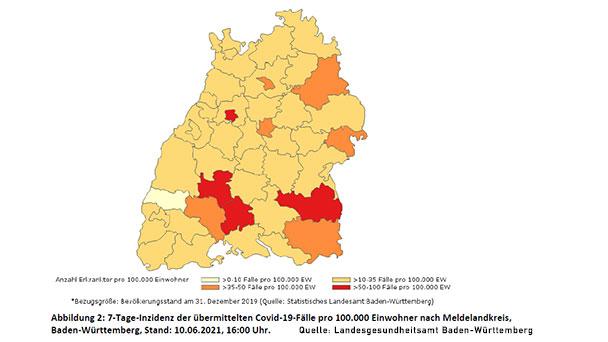 Baden-Baden bleibt bei 10,9 – Landkreis Rastatt 25,9 – Keine Erklärung für 100,2 in der Stadt Rastatt – Bester Landkreis 6,0