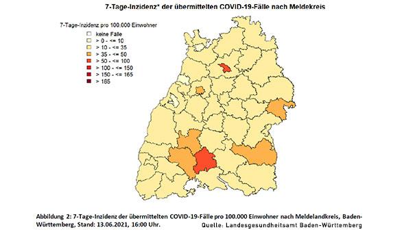 Stadt Karlsruhe löst Baden-Baden ab – Baden-Baden sinkt aber weiter auf 7,2 – Landkreis Rastatt 25,9
