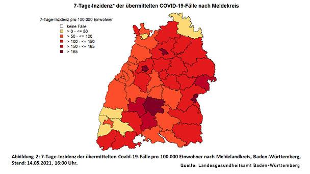 Wenn alles glatt läuft: Öffnungen in Baden-Baden am Donnerstag – 7-Tage-Inzidenzen brechen ein – Baden-Baden 72,5 – Landkreise Rastatt, Karlsruhe, Ortenau unter 100
