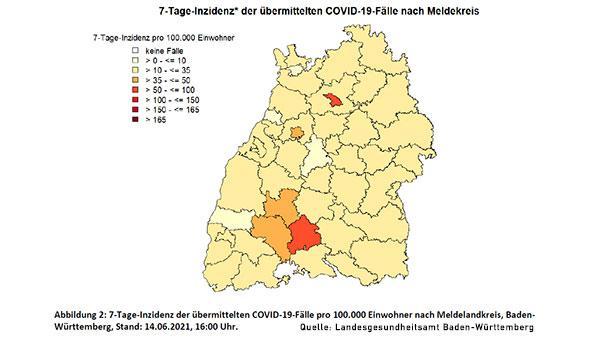Stadt Karlsruhe sinkt auf Rekordtief 6,4 – Baden-Baden steigt wieder leicht an – Landkreis Rastatt bleibt bei 25,9