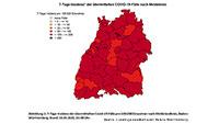 7-Tage-Inzidenz sinkt kaum – Baden-Baden 85,2 – Landkreis Rastatt 101,1 – Einschneidende neue Regeln am Dienstag erwartet