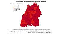 7-Tage-Inzidenz Baden-Baden bei 79,4 – Landkreis Rastatt 86,4 – Kaum Veränderungen zum Beginn des verschärften Lockdowns