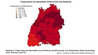 7-Tage-Inzidenz in Baden-Baden steigt auf 132,3 – Landkreis Rastatt 203,1 – Baden-Württemberg 170,5