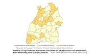 Tendenz zeigt nach oben – Inzidenz in Baden-Baden legt zu auf 19,9 – Stadtkreise im Land steigen – Ausnahme Karlsruhe