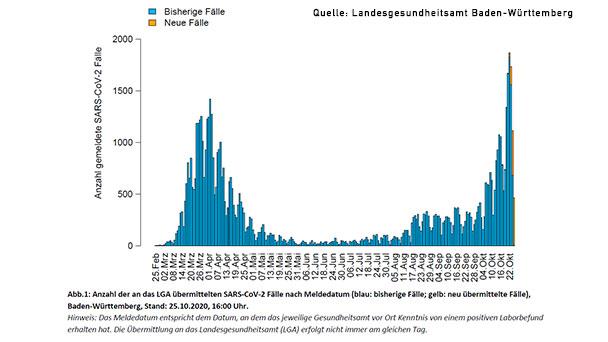 7 Tage Inzidenz Fur Baden Baden Sinkt Gegen Den Trend Auf 54 4 Landkreis Rastatt Steigt Auf 86 Landesschnitt Baden Wurttemberg 80 4