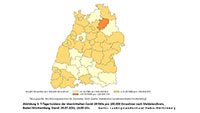 Auf und Ab bei 7-Tage-Inzidenz – Baden-Baden wieder gestiegen auf 27,2 – Landkreis Rastatt 11,2 – Stadt Karlsruhe 10,6