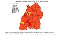 """Baden-Badener Rathaus: Corona-Geschehen """"diffus"""" – Gesundheitsamt Rastatt kann Maßnahmen anordnen – 7-Tage-Inzidenz in Baden-Baden jetzt bei 124,4"""