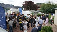 Nostalgie am Baden-Badener Schlossberg – 160 Päda-Schüler blickten wehmütig zurück