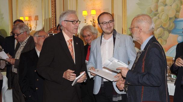 Deutsch-Französischer Club ehrte jungen Franzosen - Ginette Neveu Preis 2017 für herausragenden Leistungen als Cellospieler