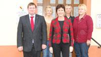 OB Mergen besucht Ortsverwaltung Sandweier