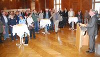 Landtags-Mitarbeiter auf Baden-Baden-Besuch