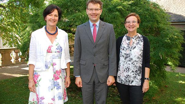 EU-Abgeordneter Daniel Caspary besuchte Rathaus - Baden-Baden bringt sich für deutsch-französische Konsultationen ins Gespräch