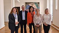 Jahrzehnte lange Dienste für Baden-Baden – Ehrung für Petra Schmidt, Marita Bleichner, Ewa Chinzi und Alexander Neumann