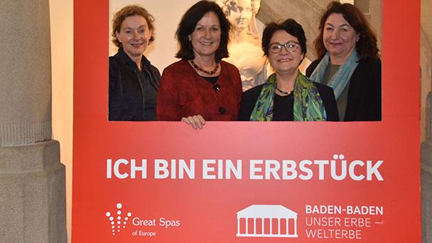 """UNESCO-Welterbe-Bewerbung Thema im Rathaus – OB Mergen informiert Landtagsabgeordnete """"in Zeiten des zunehmenden Nationalismus"""""""