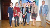 OB Mergen gratulierte Prüfungsabsolventen