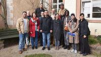 Wie funktioniert die Stadtverwaltung? Welche Aufgaben hat der Gemeinderat? – Kurs der Volkshochschule zu Besuch im Baden-Badener Rathaus