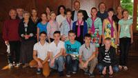 Stadt begrüßt Schüler aus Gomel