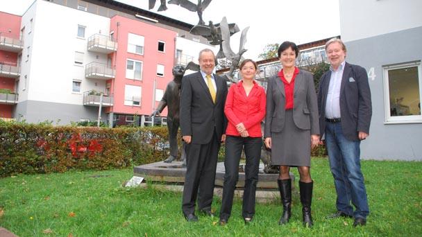 OB Margret Mergen bei Baden-Badener Arbeiterwohlfahrt - Städtische Zuschüsse von 1,6 Millionen Euro
