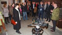 """Rathausspitze und 20 Stadträte besuchten SWR - """"SWR-Hörfunkdirektor Gerold Hug ließ es sich nicht nehmen, die Gruppe persönlich zu führen"""""""