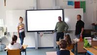 Neues Zeitalter für Schüler in Gaggenau – Digitale Schultafeln in Hans-Thoma-Schule