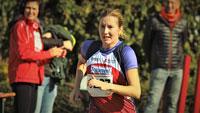 Strahlend und glücklich über die Ziellinie – Bianca Maria Dittrich vom SCL Heel Baden-Baden siegt bei Badischen Meisterschaften