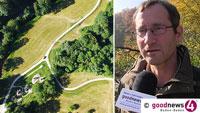 """Drohne für Baden-Badener Forstamt – Thomas Hauck: """"Im Baum zwanzig, dreißig Meter hoch, das sehe ich gar nicht von unten"""""""