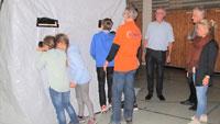 Sinnvolles Abenteuer in Bühl – 360 Schüler im Dunkeltunnel