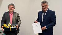 """OB Schnurr ehrt Ortsbeauftragten Thomas Haunß – """"Die langjährige Tätigkeit ist Thomas Haunß nicht hoch genug anzurechnen"""""""