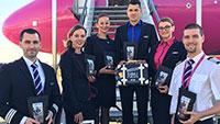 Erster Flieger aus Rumänien in Karlsruhe/Baden-Baden gelandet – Wizz Air aus Sibiu