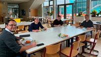 Jugenddelegation testet Schulessen – Ökologischer Gedanke soll noch stärker berücksichtigt werden