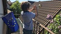 """Karlsruher Bürger sollen auf Balkonen gemeinsam singen – OB Frank Mentrup: """"Schmettern für Europa"""""""
