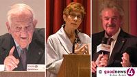 Historische Reden zum Europatag: goodnews4-VIDEOS mit Alfred Grosser, Jean Asselborn und Annegret Kramp-Karrenbauer