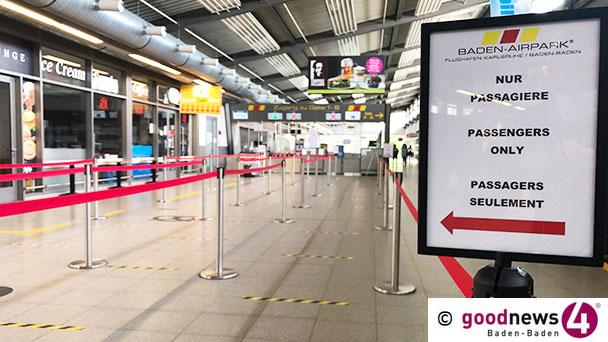 Ab heute wieder Flüge von Baden-Baden nach London – FKB erholt sich langsam
