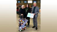 Passagier-Rekord am Flughafen Karlsruhe/Baden-Baden – Manfred Jung meldet 1,3 Millionen Passagiere