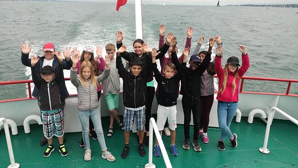 Abenteuer-Ferien in der Unterwasserwelt – Schüler der Theodor-Heuss bedankten sich beim Zonta-Club Baden-Baden