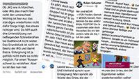 """Fremdenfeindliche Töne in Baden-Baden – Jüdischer Bürger setzt sich zur Wehr – """"Er sieht meinen Namen und erzählt mir was von der russischen Denkweise? Meine Oma ist Jüdin und musste im Jahr 1941 vor den Nazis fliehen"""""""