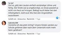 """#SocialMediaBaden-Baden – Kommentare zu: """"Warnstreik in Baden-Baden – Morgen keine Busfahrten ab 10 Uhr"""""""