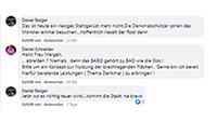 #SocialMediaBaden-Baden – Kommentare zu: Zentrale Gedenkfeier für Corona-Todesopfer – Motorradlärm in Baden-Baden – Stadt Baden-Baden will BABO kaufen