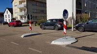 Zwei neue Überquerungshilfen in Gaggenauer Bismarckstraße – Kreuzungsampel nicht reparabel