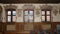 """Restaurierungsarbeiten der Wandmalerei im Trausaal abgeschlossen – """"Kosten in Höhe von rund 13.700 Euro"""""""