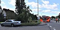 """""""Feuerwehreinsatz"""" bei Verkehrsunfall in Sinzheim – Zwei Verletzte in der Klinik"""