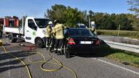 Tödlicher Verkehrsunfall bei Haueneberstein – Autofahrerin starb in der Klinik