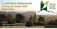 """Merkurlauf am Samstag hat noch Startplätze frei - """"Einzigartiges Event in den Wäldern Baden-Badens"""""""