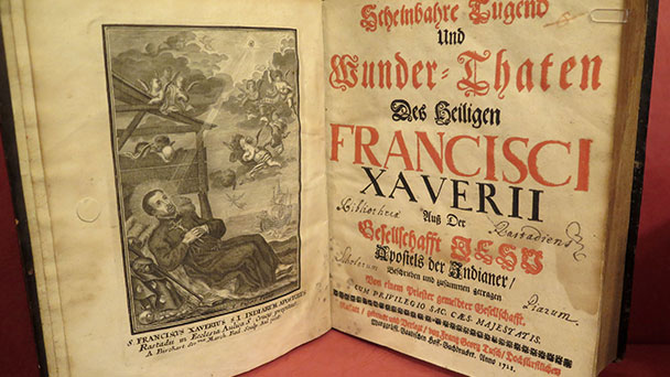 """Führung durch historische Bibliothek – """"Reisen im Namen Gottes"""""""