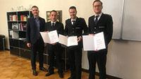Neuer Feuerwehr-Kommandant in Gernsbach – Ernennungsurkunden durch Bürgermeister Christ