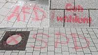 SPD-Kreuzchen auf Kanaldeckel – Für die Stadt Gaggenau nur eine Sachbeschädigung