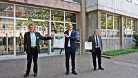 Grünes Gaggenau erhält Klima-Zertifikat – Städtischer Strombedarf durch 100 Prozent Grünstrom gedeckt