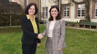 """Türkische Generalkonsulin im Baden-Badener Rathaus – """"Auch Moschee in Steinbach und gute Kooperation mit waren ein Thema"""""""