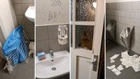 """""""Vandalismus ist kein Kavaliersdelikt"""" – Öffentliche Toilettenanlage am Färbertorplatz demoliert – Sanierung erst kürzlich abgeschlossen"""
