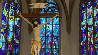 """Stadtführung in Gernsbach am 3. Juli – Auch zu den """"prächtigen Glasfenstern von Albert Birkle"""""""